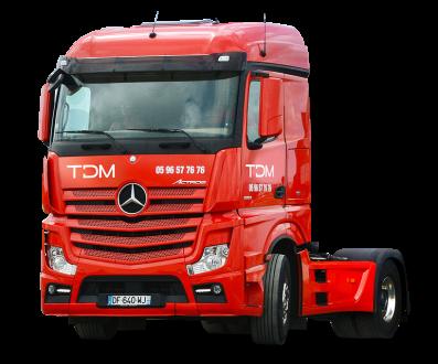 transport matériel TDM Mercedes